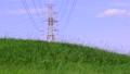 电塔,高压电电塔,草地,电気タワー、高电圧电気タワー、草、Electric tower 34552357