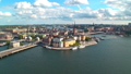 Zoom aerial panorama of Stockholm, Sweden 34773262