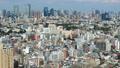 東京ランドスケイプ 東京タワー、六本木 青空、白い雲 タイムラプス ティルトアップ 34775115