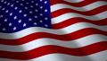 USA flag, seamless loop. 3d render 34846740