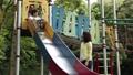 公園 人物 ファミリーの動画 34876181