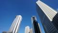 東京風景新宿高層建築區域特別設備向上傾斜 34949158