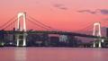 レインボーブリッジ 夕日 夕焼けの動画 34949607