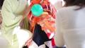 아이 사진 치고 산 모녀와 여성 사진 촬영 풍경을 촬영 34951016