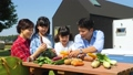 家族 野菜 親子の動画 34954301
