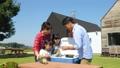 家族 キャンプ 子供の動画 34954427