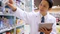薬局 薬剤師 タブレットの動画 34987320