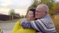 Senior couple is hugging 35024839