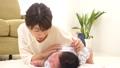 赤ちゃん 親子 人物の動画 35082506