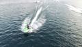 ジェットスキーを楽しむ仲間 ドローン映像 イメージ 35194478