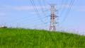 电塔,高压电电塔,草地,电気タワー、高电圧电気タワー、草、Electric tower 35263393