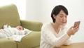 人物 赤ちゃん お母さんの動画 35397700