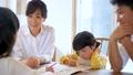 아이 공부 거실 가정 학습 패밀리 이미지 35446836