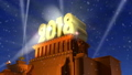 New Year 2018 holiday concept 35466161
