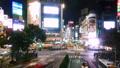 渋谷 渋谷スクランブル交差点 渋谷駅前の動画 35585695