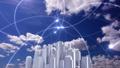ビジネス ネットワーク 都市の動画 35603322