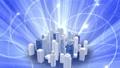 ビジネス ネットワーク 都市の動画 35603325