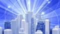 ビジネス ネットワーク 都市の動画 35603339