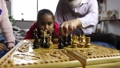 chess, playing, family 35604595