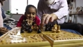 family, playing, chess 35604597