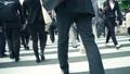 步行,办公室工作人员,商人,图像,视频材料,日语,东京,业务,高速,超级 35673978