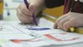 kid, girl, drawing 35904086