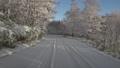 冬 雪 道の動画 36011600