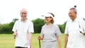 ゴルフ シニア ゴルフ場の動画 36020099