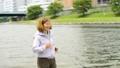 シニア 女性 ジョギングの動画 36020582