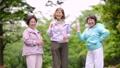 シニア 女性 ジョギング  アクティブシニア イメージ 36027491