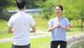 ジョギング 夫婦 ミドル ウォーキング イメージ 36028075