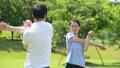 ジョギング 夫婦 ミドル ウォーキング イメージ 36028076