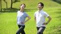 ジョギング 夫婦 ミドル ウォーキング イメージ 36028077