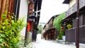 京都・祇園 町家が並ぶ街並み 風景 36029876