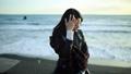 海辺の女性 36092311