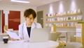 女医 パソコン ノートパソコンの動画 36135039