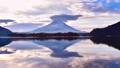 富士山 傘雲 風景の動画 36178909