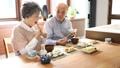 シニア 夫婦 朝食の動画 36232749