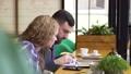 coffee, talking, working 36392566