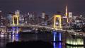 レインボーブリッジ 東京 タイムラプスの動画 36508378