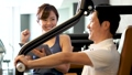 健身房肌肉训练中间人训练图像 36605824