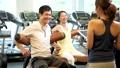 健身房肌肉训练夫妇训练图像 36652156