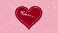 バレンタイン バレンタインデー ハートの動画 36666816