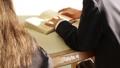 学校 人物 学生 図書室 36675313