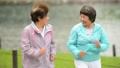 ジョギング シニア 女性の動画 36790116