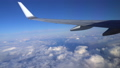 日本上空 雲の上の風景 空撮 飛行機の翼 36807603