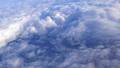 日本上空 雲の上の風景 空撮 36807605