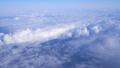 日本上空 雲の上の風景 空撮 36807606