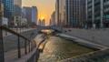 韩国 时间的推移 运河 36858861