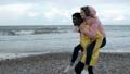 海滩 海岸 夫妇 37017549